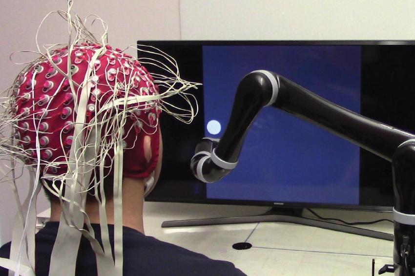 การพัฒนาแขนหุ่นยนต์แบบควบคุมด้วยจิตใจ