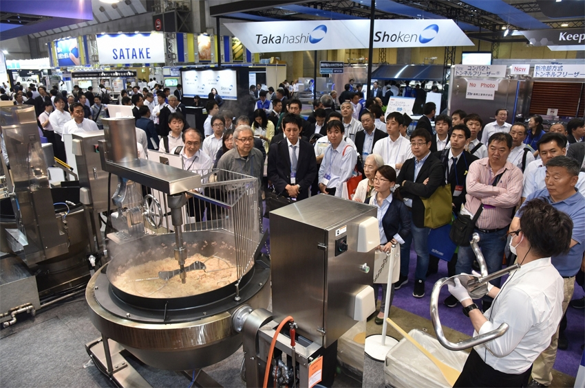 "FOOMA JAPAN 2019 งานแสดง ""เครื่องจักรและเทคโนโลยีอาหาร"""