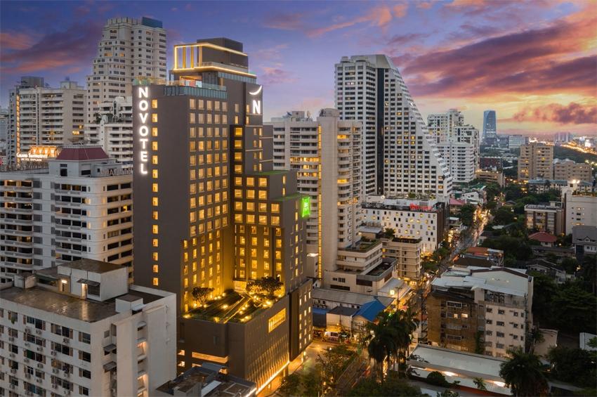 AccorHotels เปิดคอนเซ็ปต์ 2 แบรนด์โรงแรม ในตึกเดียวกัน โนโวเทล และไอบิส สไตล์ สุขุมวิท 4