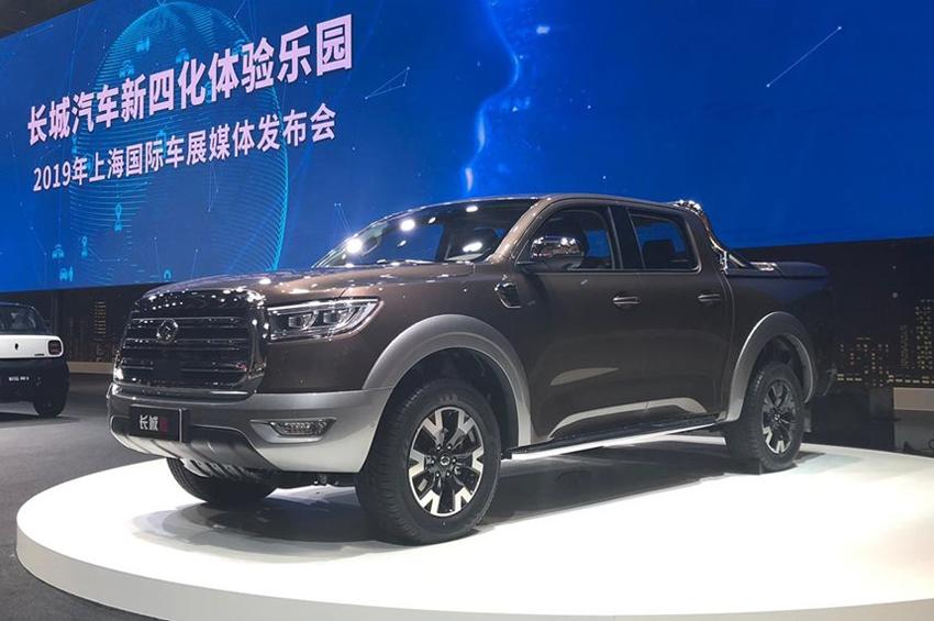 Great Wall Motor เปิดตัวรถกระบะ P Series สามรุ่นใหม่