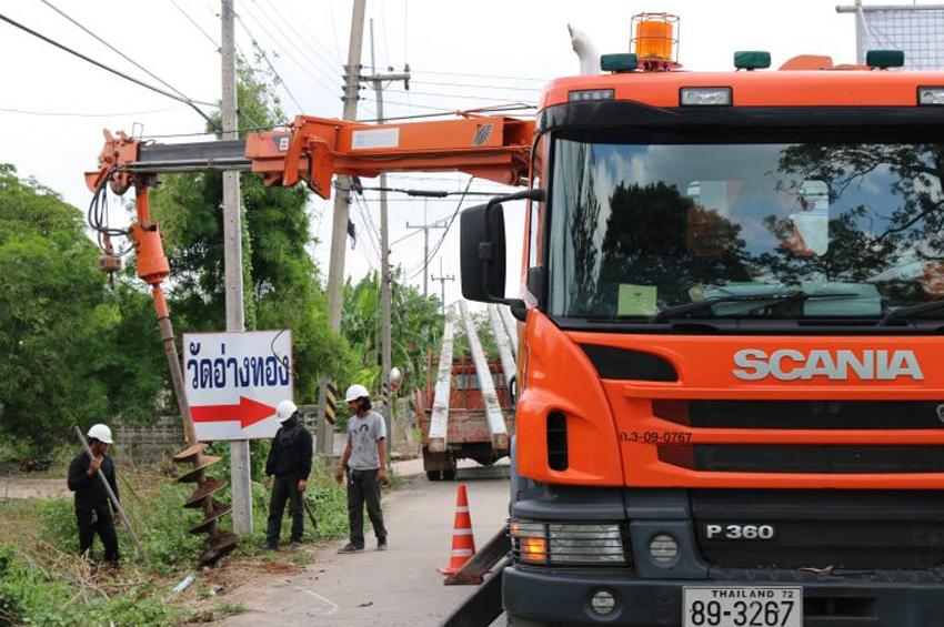 Scania ผลักดันการเปลี่ยนแปลงระบบขนส่งที่ยั่งยืนในประเทศไทย
