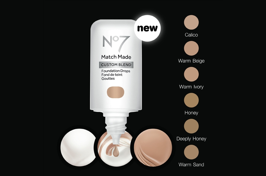 No7 Match Made Custom Blend Foundation Drops