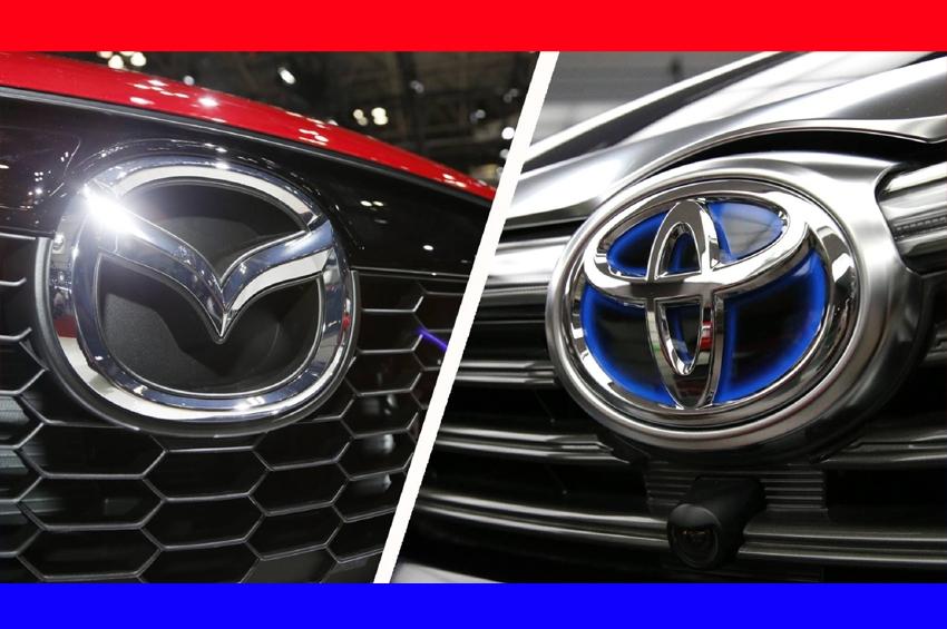 Toyota และ Mazda เข้าร่วมหุ้น