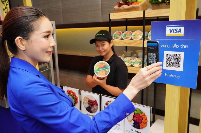 วีซ่า ประเทศไทย จัดแถลงข่าว เปิดโลกนวัตกรรมใหม่ใช้จ่ายผ่าน Visa QR Code ในประเทศไทย