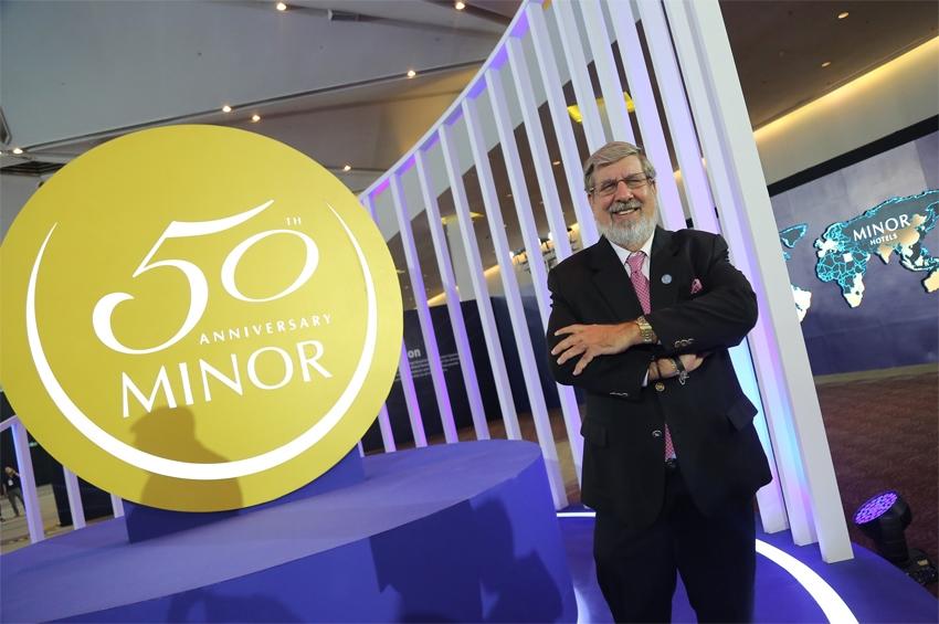 """""""ไมเนอร์ กรุ๊ป"""" เฉลิมฉลองครบรอบ 50 ปี ความสำเร็จการดำเนินธุรกิจระดับสากล"""