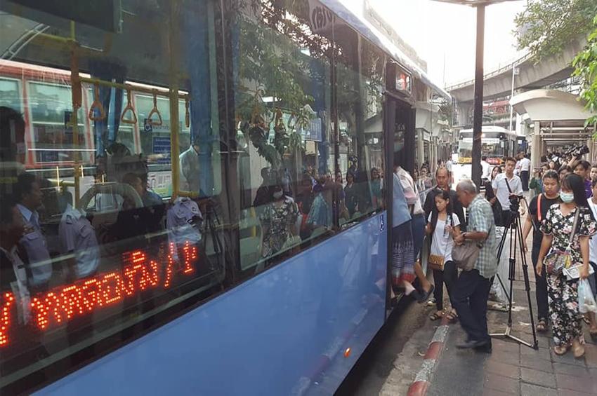 SCN มั่นใจปีนี้รับรู้รายได้โครงการรถเมล์ NGV ประมาณ 1,200 ล้านตามแผน หลัง ขสมก. รับมอบรถเมล์งวดที่ 2 จำนวน 102 คัน เรียบร้อย