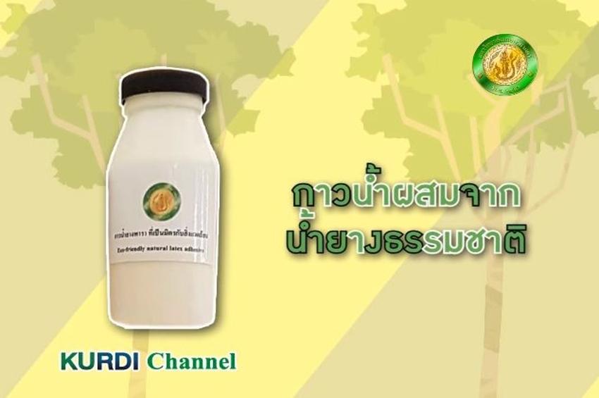 นวัตกรรมกาวน้ำยางพารา สร้างมูลค่าให้เกษตรกรยางพาราไทย