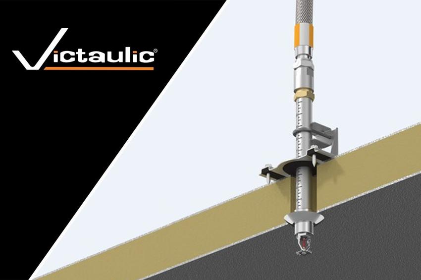 Victaulic เปิดตัว VicFlex Style AB6 Bracket ใช้งานในห้องเย็น