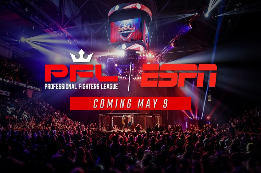 ESPN ถ่ายทอดการแข่งขัน Professional Fighters League