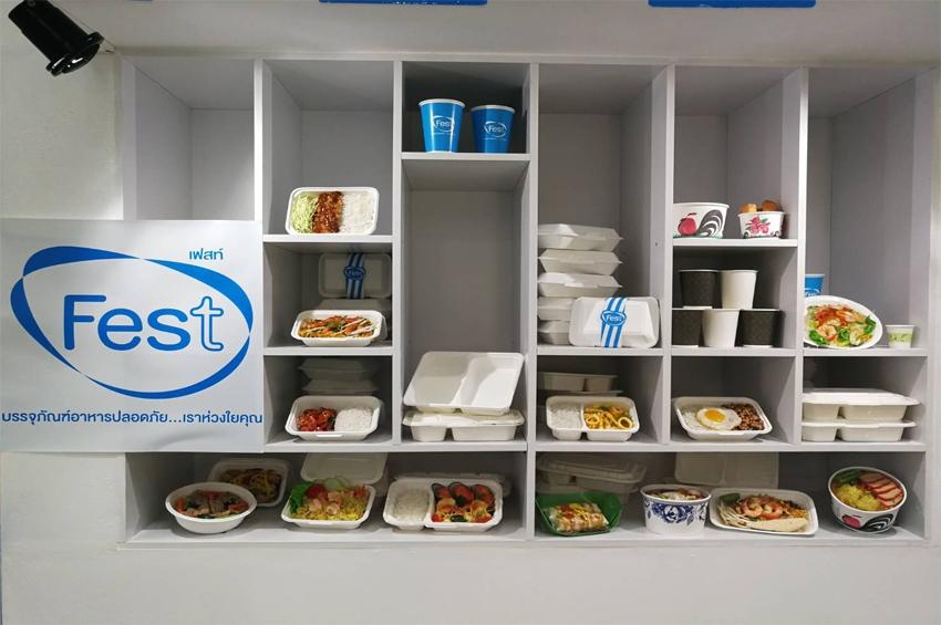 เฟสท์ เปิดตัวบรรจุภัณฑ์อาหาร 'เยื่อกระดาษธรรมชาติ' ทนน้ำมัน-เข้าไมโครเวฟได้ ย่อยสลาย 100%
