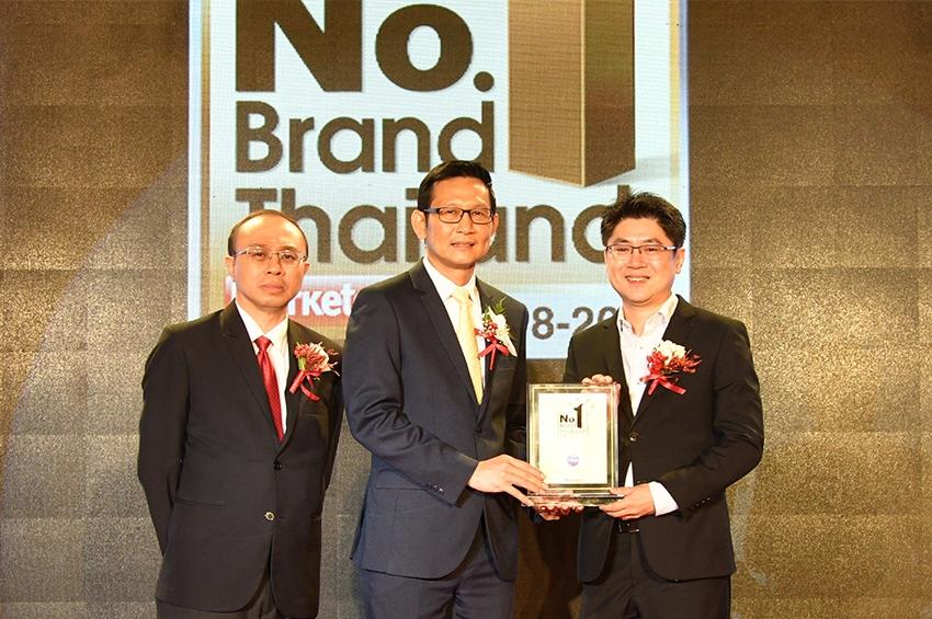 คริสตัล รับรางวัล No.1 Brand Thailand 2018-2019