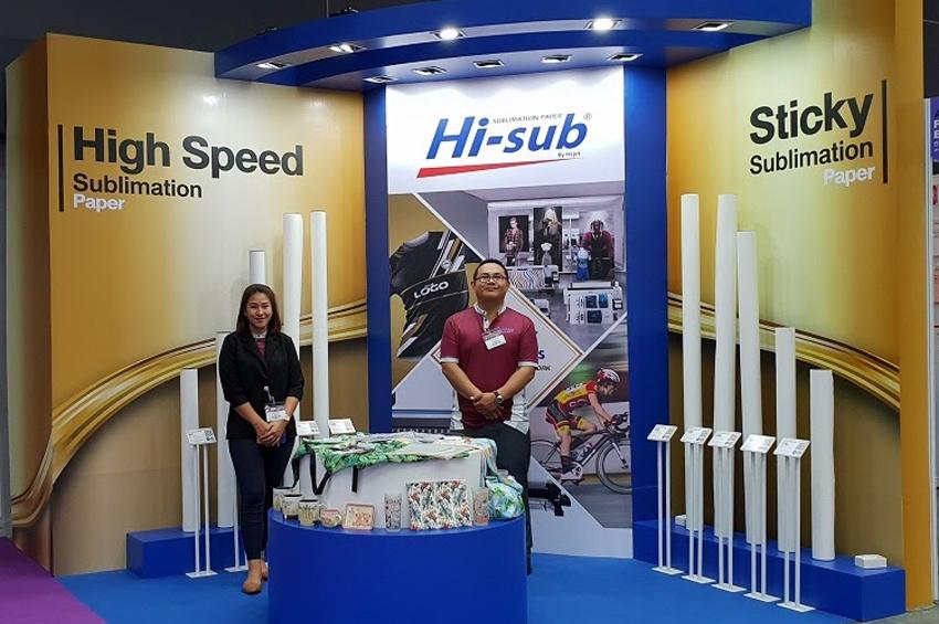 """กระดาษ Hi-sub กับงาน """"Asia Print Expo 2019"""""""