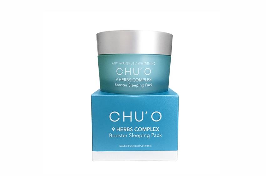 """CHU'O แนะนำผลิตภัณฑ์ใหม่ """"CHU'O Booster Sleeping Pack"""""""
