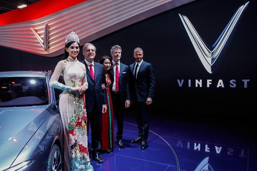 VinFast แบรนด์รถน้องใหม่สัญชาติเวียดนาม ดึงดูดทุกสายตาที่งาน ปารีส มอเตอร์ โชว์