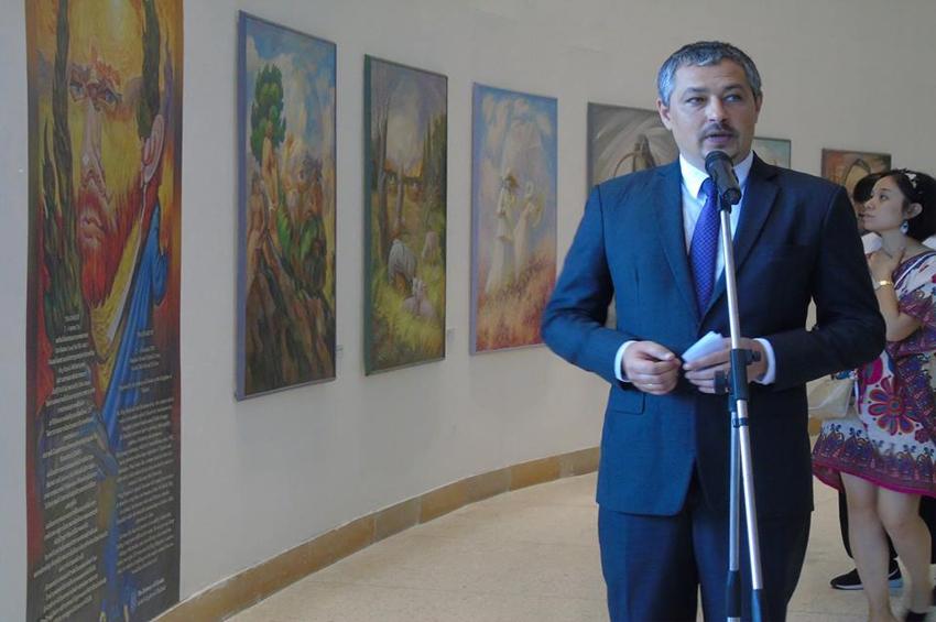 """นิทรรศการผลงานภาพวาดยูเครน """"IMAGINARIUM"""""""