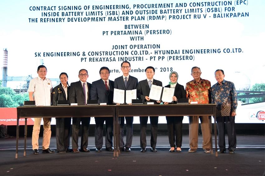 PT Rekayasa Industri (Rekind) และ Joint Operation ร่วมลงนามในสัญญาพลังงานสำหรับโครงการ Balikpapan RDMP