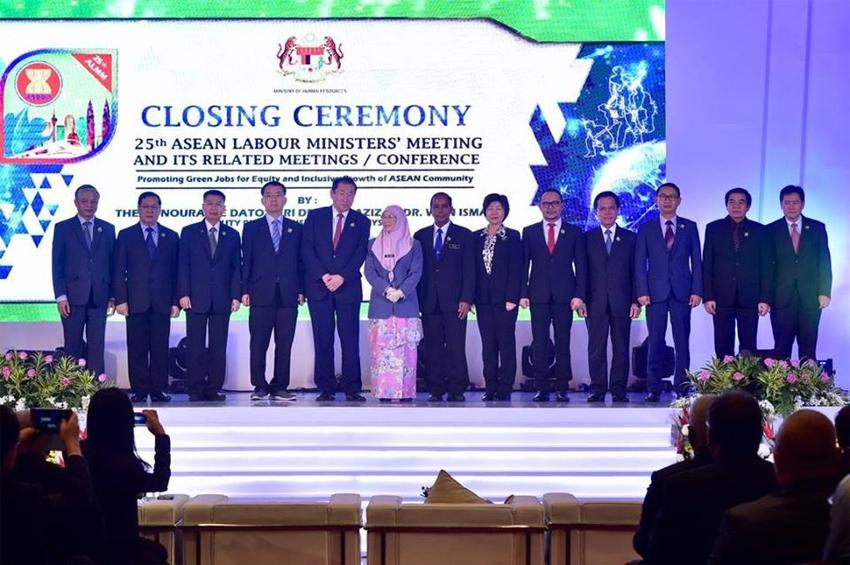 ที่ประชุมรัฐมนตรีแรงงานอาเซียนเห็นชอบต่อเอกสาร 3 ฉบับที่มีความสำคัญต่อแรงงานในภูมิภาค