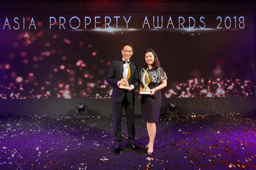 'ฮาบิแทท กรุ๊ป' คว้า 2 รางวัลยอดเยี่ยมใน PropertyGuru Asia Property Awards 2018