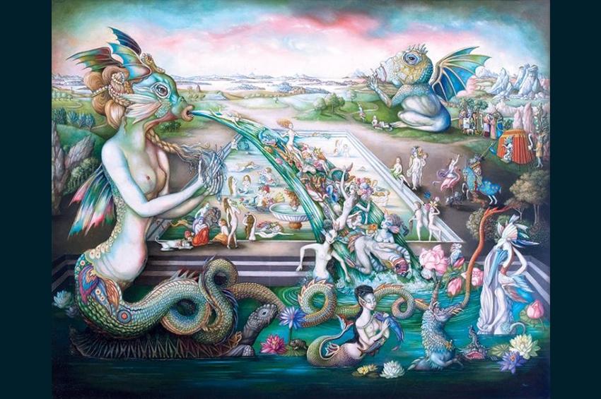 ความงามและความน่าเกลียด : สุนทรียศิลป์แห่งมารศี จิตรกรรมฝีพระหัตถ์อันทรงคุณของ ม.จ.มารศีสุขุมพันธุ์ บริพัตร