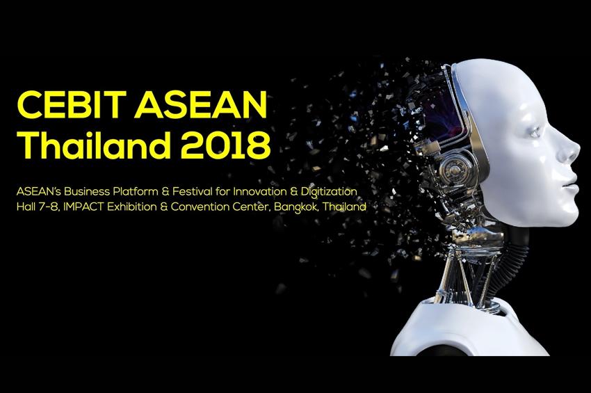 ดอชเช่อ เมสเซ่ เอจี ร่วมมือกับ บริษัท อิมแพ็ค เอ็กซิบิชั่น แมเนจเม้นท์ จัดแถลงข่าวความพร้อมการจัดงาน CEBIT ASEAN THAILAND 2018