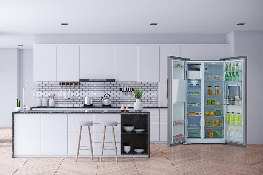 """ตู้เย็น side by side"""" นวัตกรรมความเย็นสมัยใหม่"""