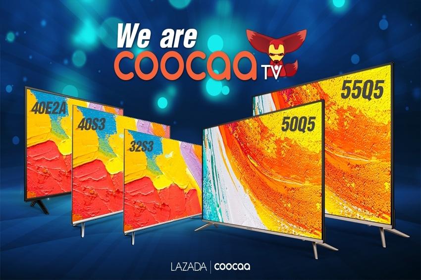 Coocaa ผนึกพันธมิตร เปิดตัว AIoTV เผยการเติบโตแข็งแกร่ง