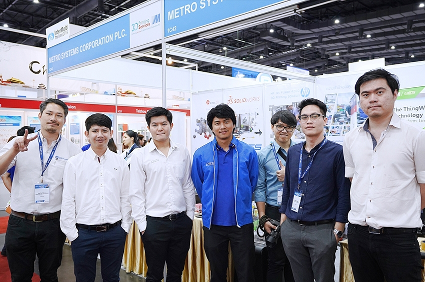 "Metro SOLIDWORKS ร่วมแสดงโชลูชั่นงาน Manufacturing Expo 2019"""