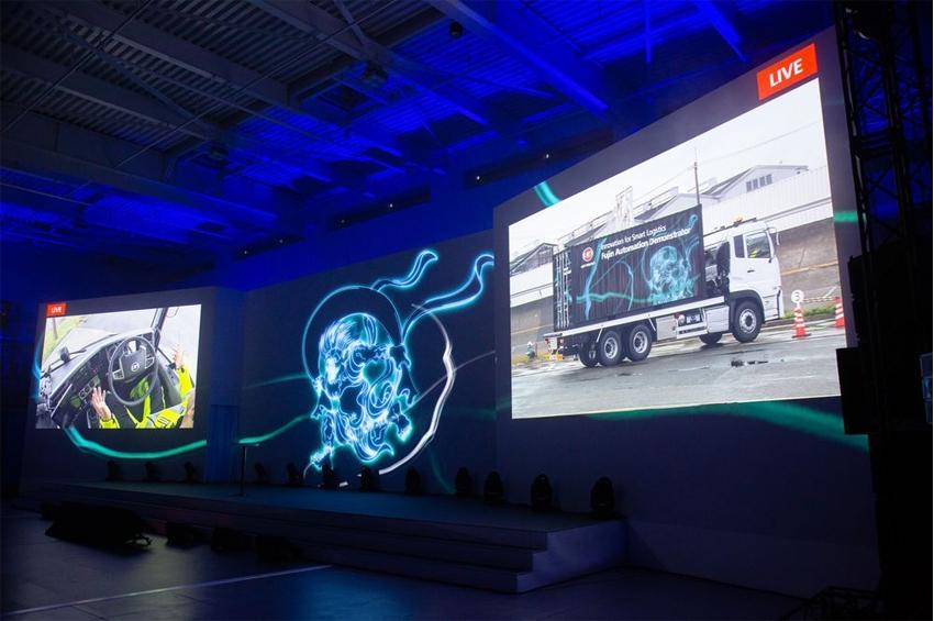 ยูดี ทรัคส์สาธิตระบบอัตโนมัติระดับ 4 สำหรับรถบรรทุกขนาดใหญ่เป็นครั้งแรก