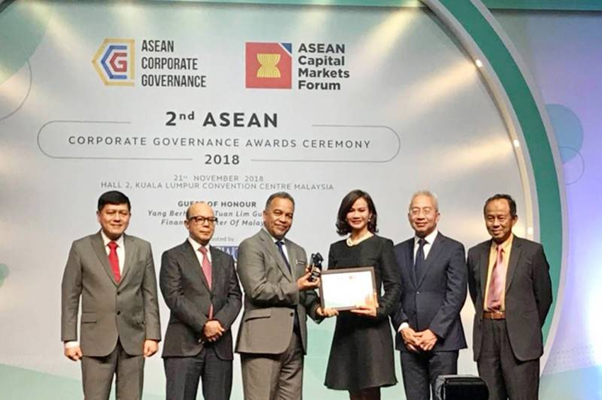 GPSC รับรางวัล TOP 50 ASEAN PLCs ในงาน 2nd ASEAN Corporate Governance (CG) Awards