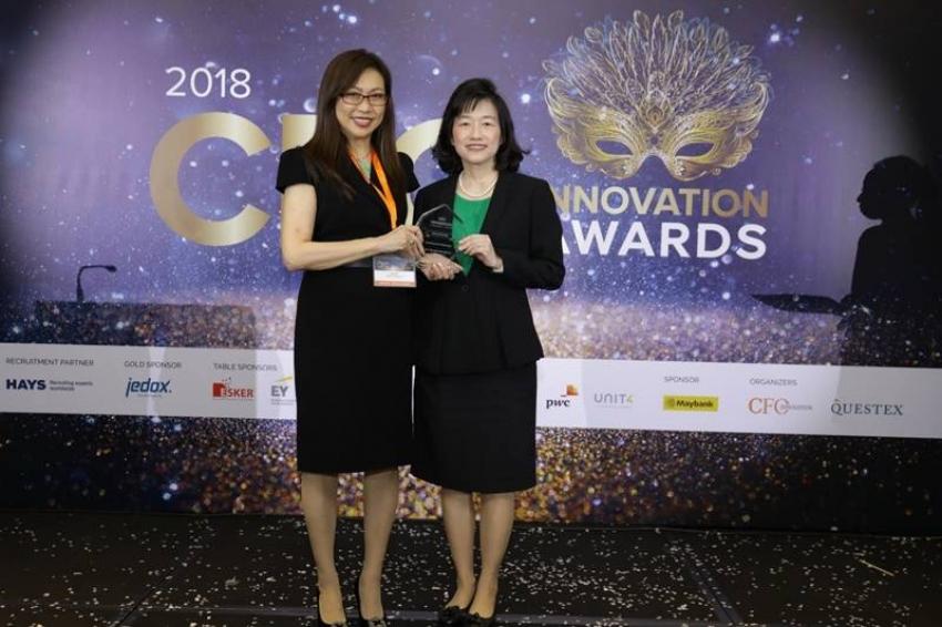 """GPSC รับรางวัล """"ซีเอฟโอ อินโนเวชั่น อะวอร์ด 2018"""""""