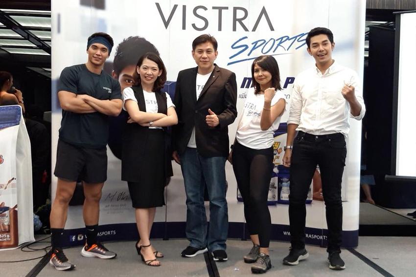 """ฟิต แอนด์ เฟิร์มไปกับกิจกรรม """"Vistra Sports Exclusive Party 2018"""" ณ โรงแรมแลงคาสเตอร์ กรุงเทพฯ"""