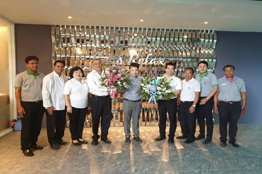 ผู้บริหาร Beyond Patong ร่วมแสดงความยินดีในโอกาส SPA เปิด Let's Relax Phuket Beyond Resort Patong