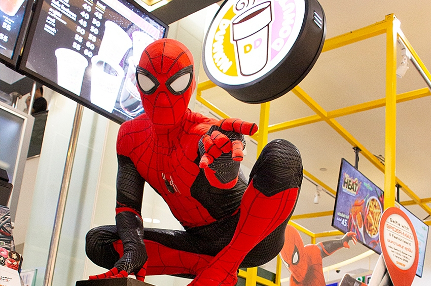 DUNKIN' x SPIDER-MAN Far From Home