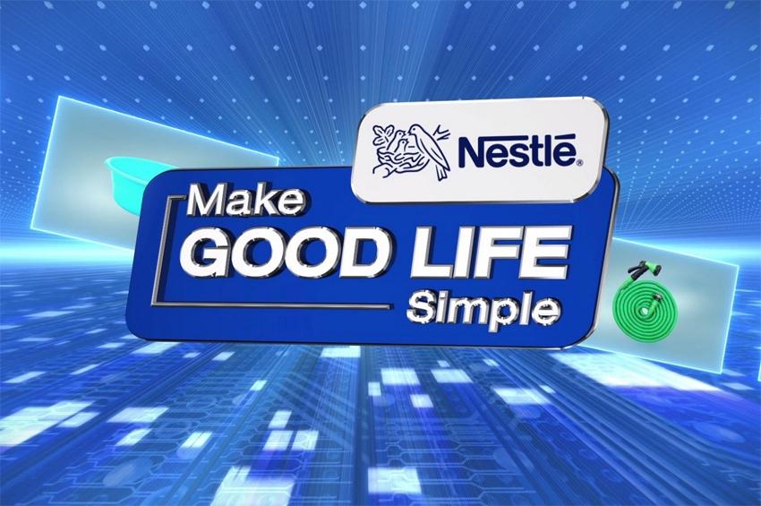 "Nestle ปลื้ม คอนเซ็ปต์โฮมช้อปปิ้งปัง! แคมเปญ ""เนสท์เล่ คนไทยแข็งแรง"""