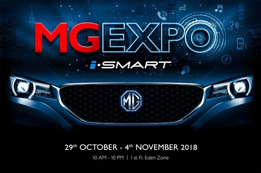 เตรียมพบกับ MG Expo 2018 ครั้งแรกของงานโขว์นวัตกรรมยานยนต์อัจฉริยะ เทคโนโลยีที่จะมาเปลี่ยนโลกแห่งการขับขี่สมาร์ทกว่าเดิม