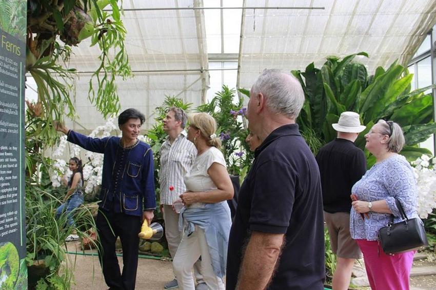 องค์การสวนพฤกษศาสตร์ ให้การต้อนรับคณะเอกอัครราชฑูต จาก 20 ประเทศเข้าเยี่ยมชมการอนุรักษ์ทรัพยากรพรรณพืชไทยและคุณค่าความงดงามของพรรณไม้ไทย