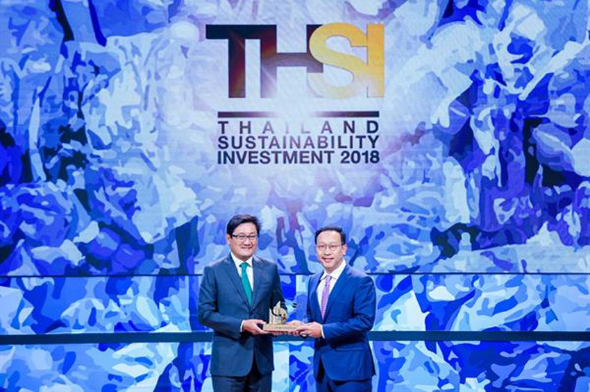 JWD รับรางวัล Thailand Sustainability Investment