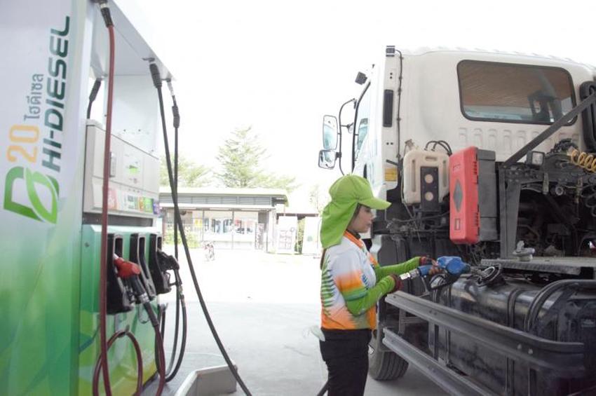 SCN นำร่องเปิดสถานีบริการ Truck Station ให้บริการไฮดีเซล B20