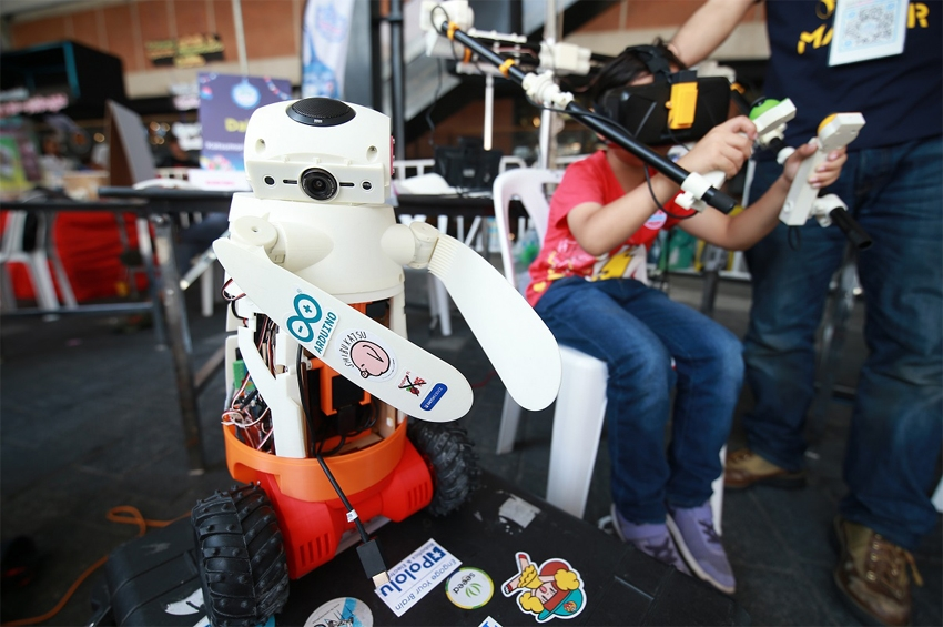 Maker Faire Bangkok 2019 มหกรรมแสดงผลงานและสิ่งประดิษฐ์ของเมกเกอร์