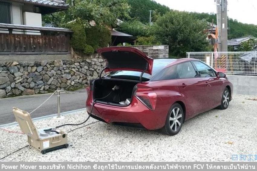 ภัยพิบัติกระตุ้น ญี่ปุ่นรุดวางโครงสร้างชาร์จไฟด้วยรถยนต์ไฟฟ้า
