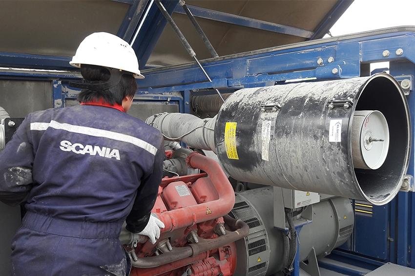 Scania รุกตลาดเครื่องยนต์เรือ