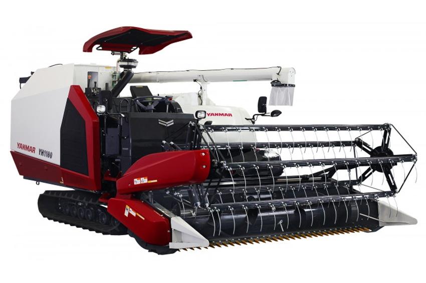 """ยันม่าร์ (Yanmar) เปิดตัวรถเกี่ยวนวดรุ่นใหม่ """"Yanmar YH1180"""" ที่สุดของเทคโนโลยีเฉพาะยันม่าร์ เกี่ยวข้าวล้มได้ดี เมล็ดข้าวสะอาด พร้อมระบบควบคุมทางไกลอัจฉริยะ (SA-R)"""