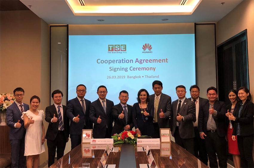 TSE จับมือ Huawei ทำโซลาร์ฟาร์ม150 MW ในญี่ปุ่น