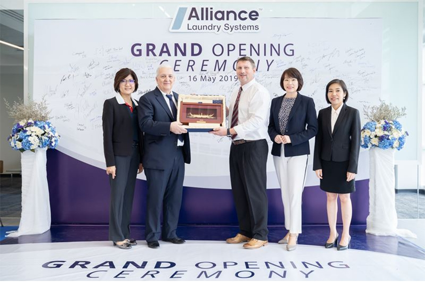 'Alliance Laundry Systems' ฉลองเปิดโรงงานแห่งใหม่ในจ.ระยอง