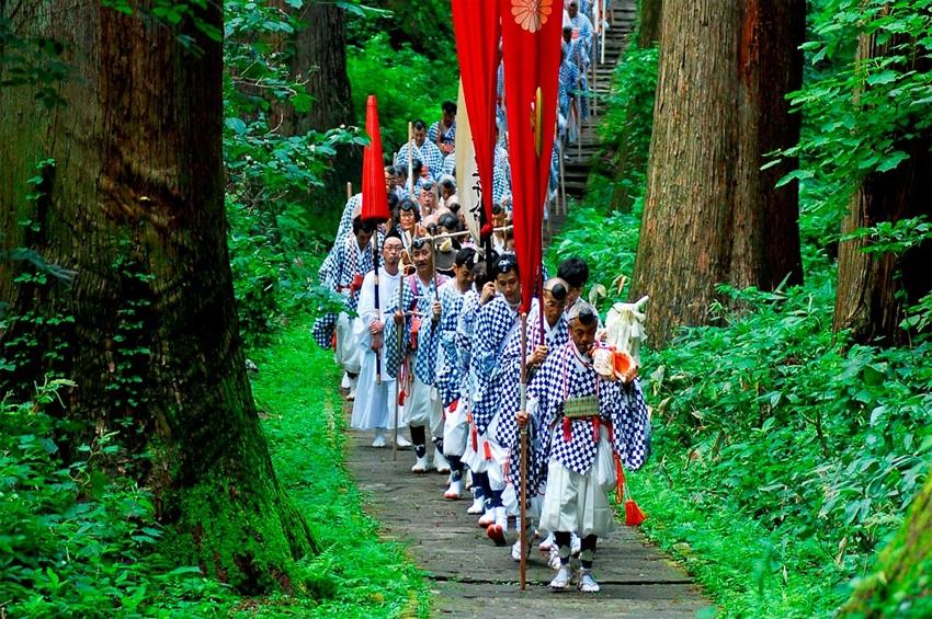 """จังหวัดยามากาตะประกาศสร้างวิดีโอโปรโมทการท่องเที่ยว """"Japan Heritage – Dewa Sanzan – A Journey to Rebirth"""""""