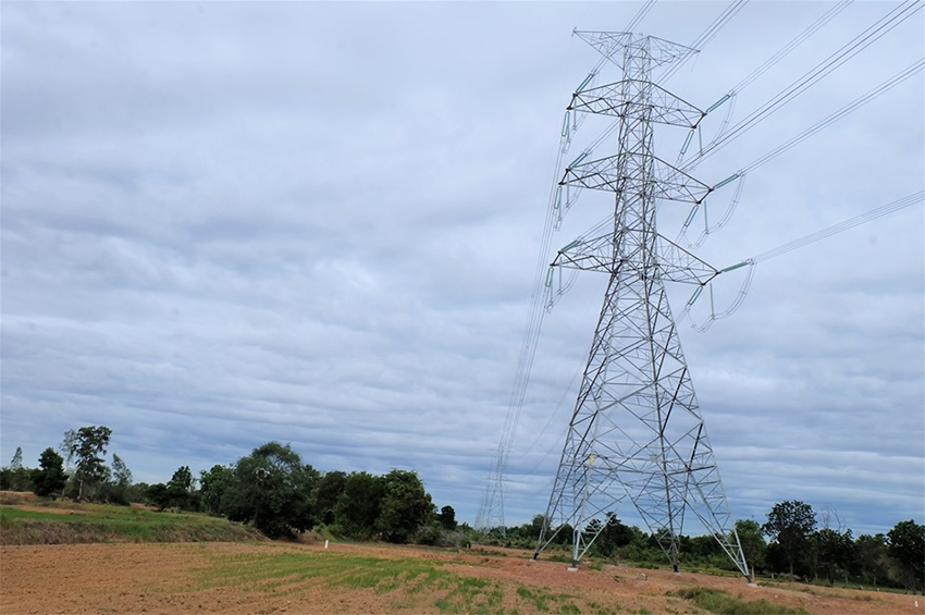 TATA Projects ประสบความสำเร็จโครงการก่อสร้างสายส่งไฟฟ้าแรงสูงในไทย
