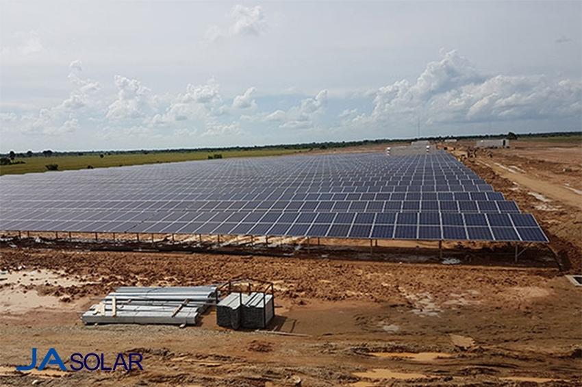 JA Solar จัดหาโมดูลให้โครงการโรงไฟฟ้าพลังงานแสงอาทิตย์ขนาด 39MW ในกัมพูชา