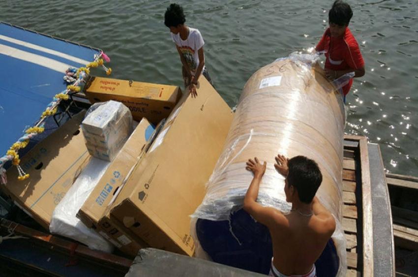 แท็งก์น้ำไซส์ยักษ์ กับการเดินทางกว่า 800 กม.