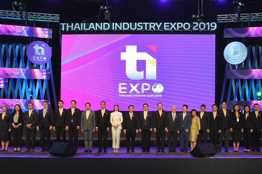 เปิดฉากงาน Thailand Industry Expo 2019 อย่างยิ่งใหญ่