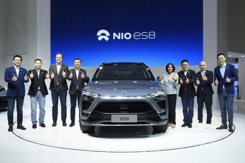 """""""นีโอ"""" รถยนต์ไฟฟ้าจีน จดทะเบียนเข้าตลาดหุ้นสหรัฐฯ"""